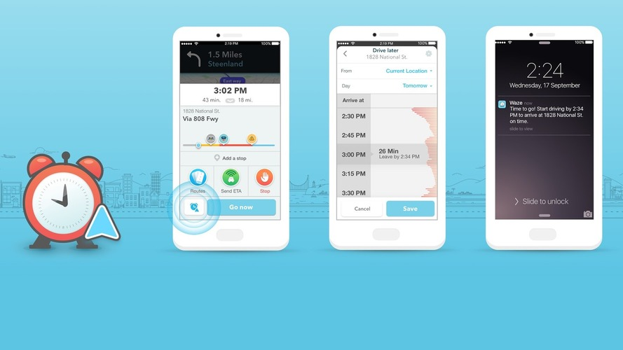 Google'ın otomobil paylaşım uygulaması Waze, Uber'e meydan okuyor