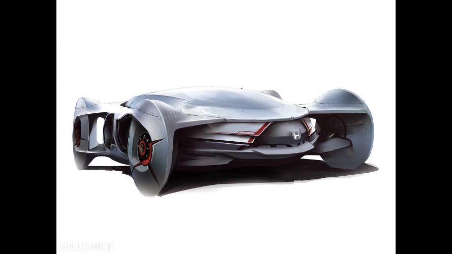 Honda Helix Concept Design