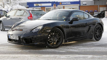 2013 Porsche Cayman prototype spy photo