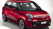 Fiat 500L previewed ahead of Geneva unveiing