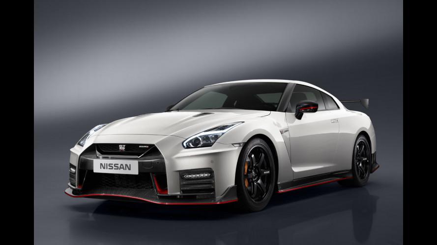 Nissan GT-R Nismo, il restyling di Godzilla