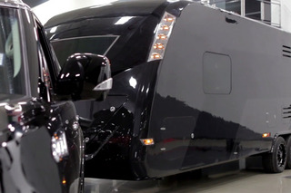 First Ever Carbon Fiber Luxury Camper Trailer Costs Nearly $1M [w/video]