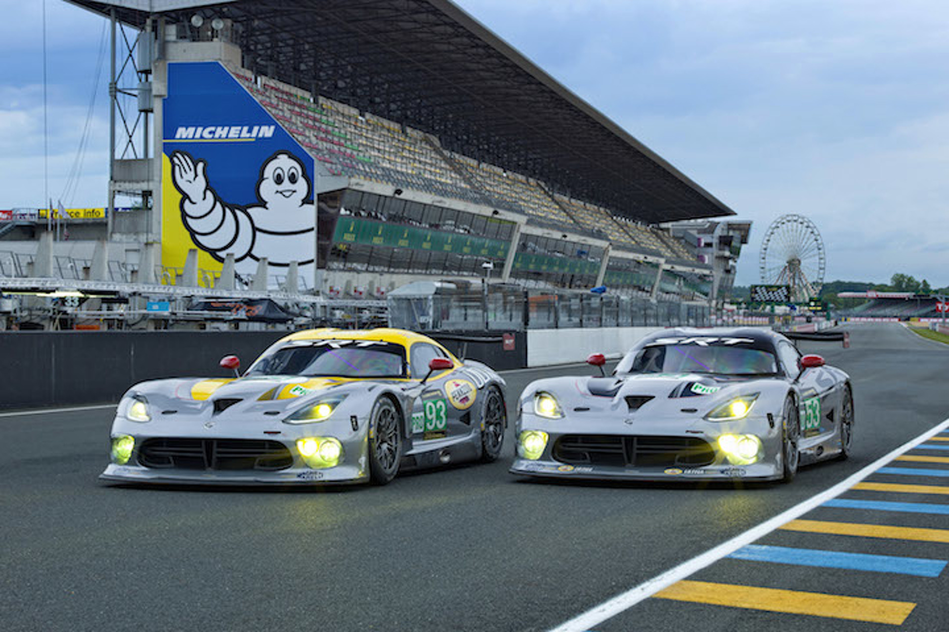 SRT Viper Pulls Out of this Year's 24 Hours of Le Mans