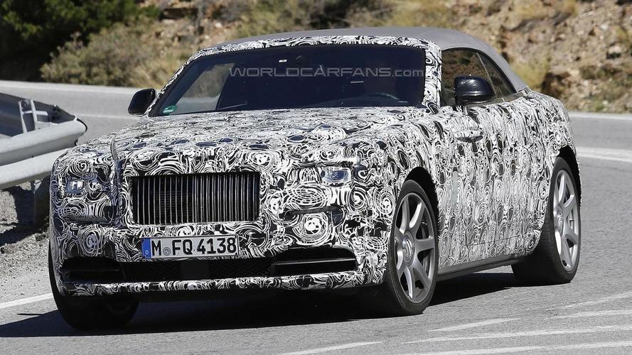 Rolls-Royce Dawn spied ahead of Frankfurt debut