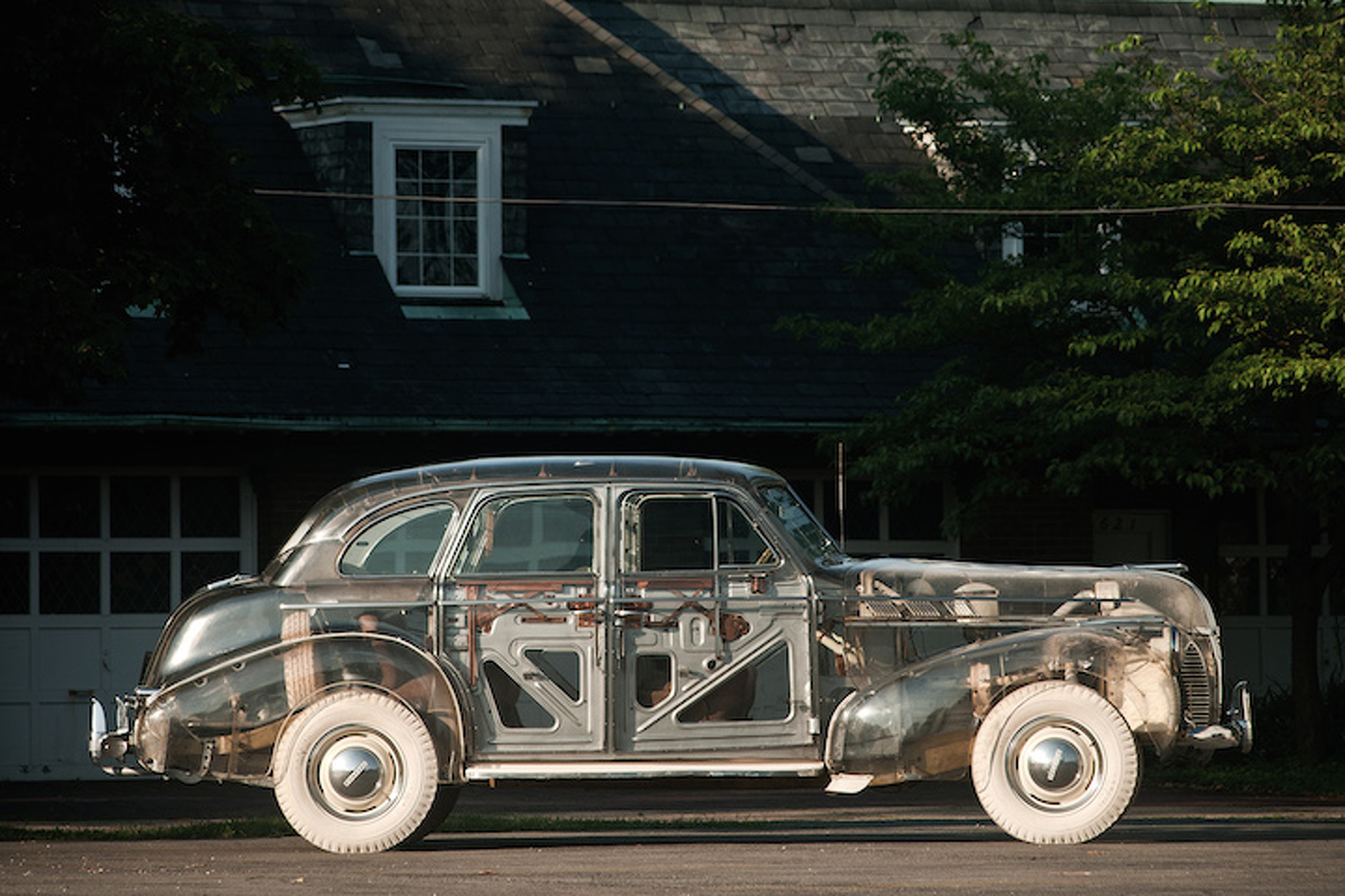 The Ghost in the Machine: The 1939 Plexiglass Pontiac