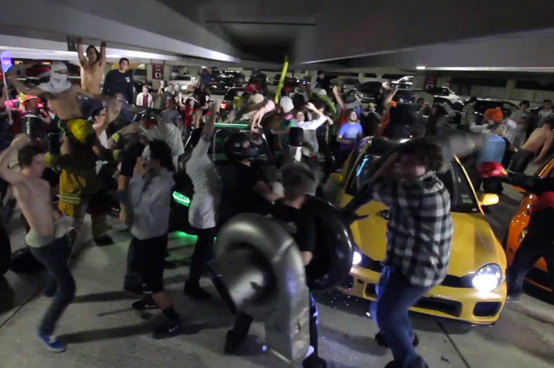 Car Club Does Harlem Shake, Proceeds to Get Weird