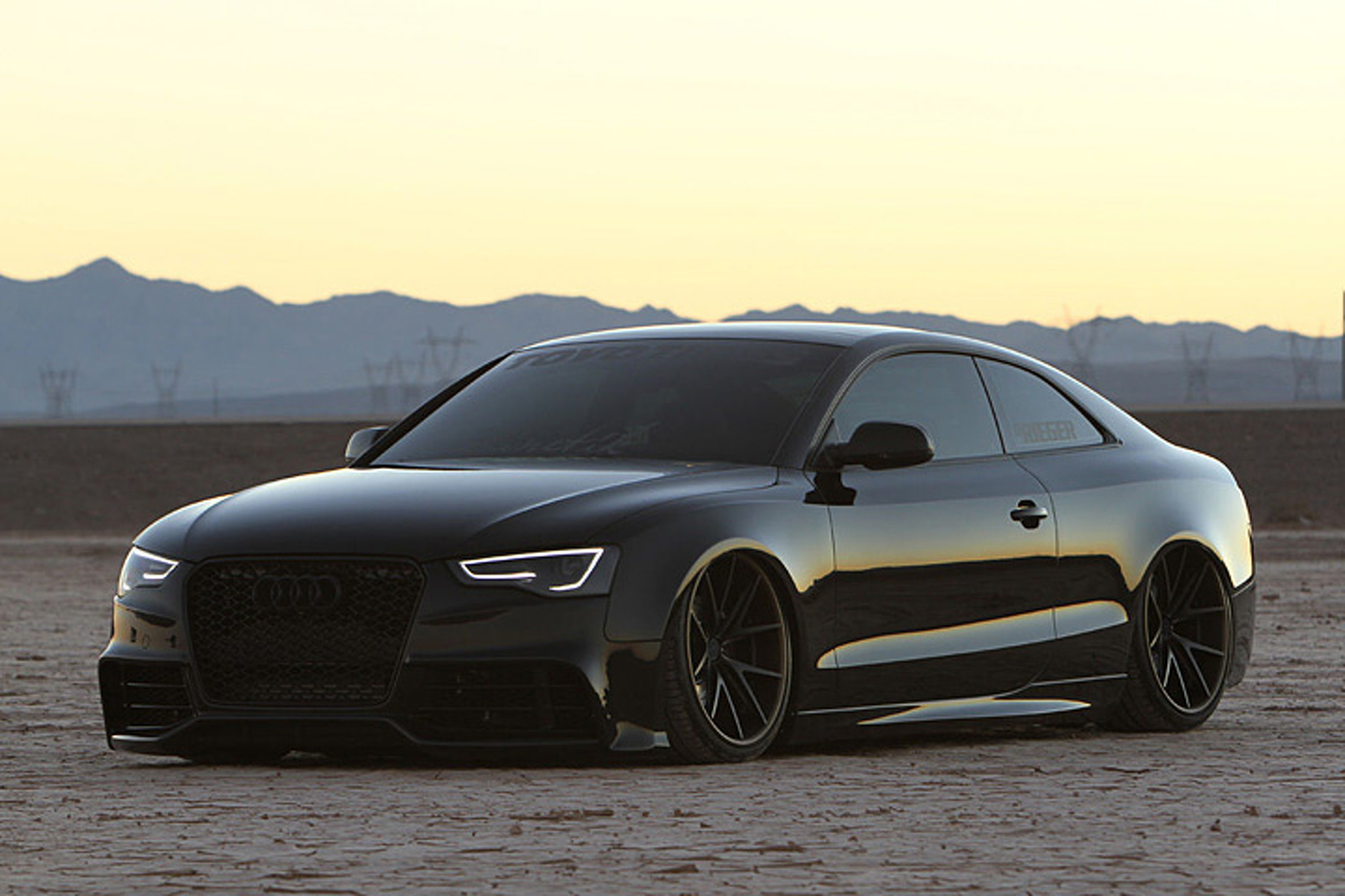 This Audi A Is A Lesson In Stance Done Right - Audi 5 car