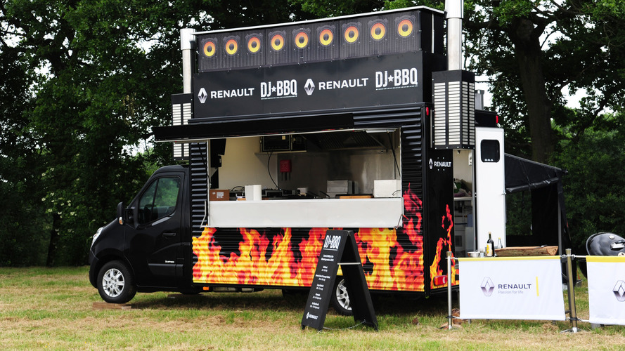 Renault van lets you hear hot beats while eating spicy meat