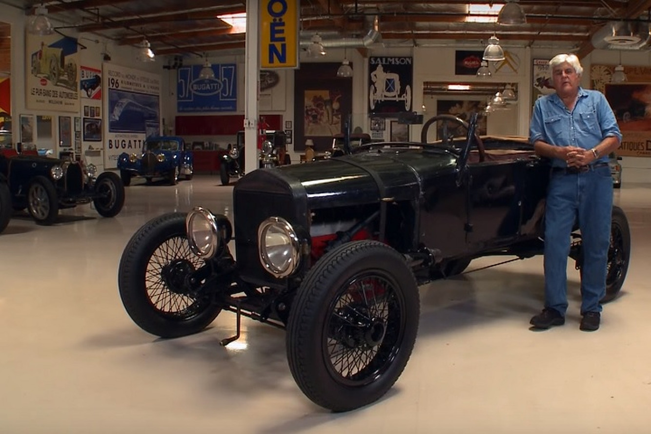 Jay Leno Gets a History Lesson in a 1927 Ford Model T Hot Rod