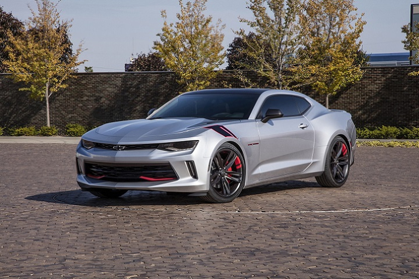 Chevrolet Unveils Camaro Red Line Concept Ahead of SEMA
