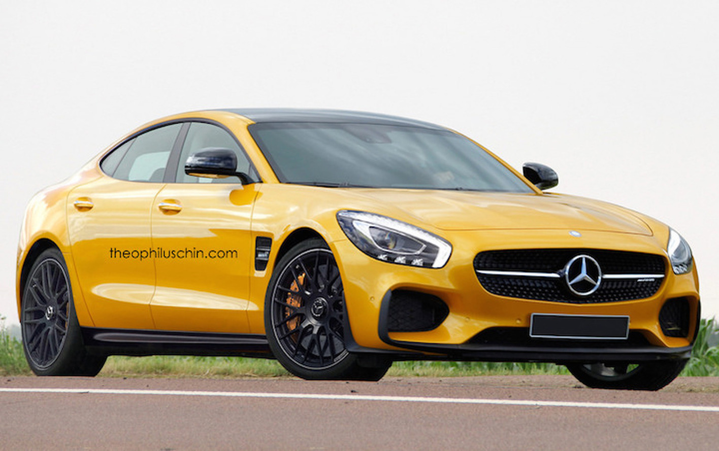 This Mercedes-AMG GT Wants to be a Porsche Panamera