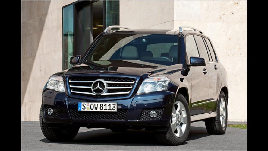 Neues Einstiegsmodell: Mercedes GLK auch mit Heckantrieb