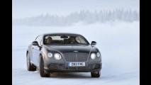 Bentley wagt sich aufs Glatteis