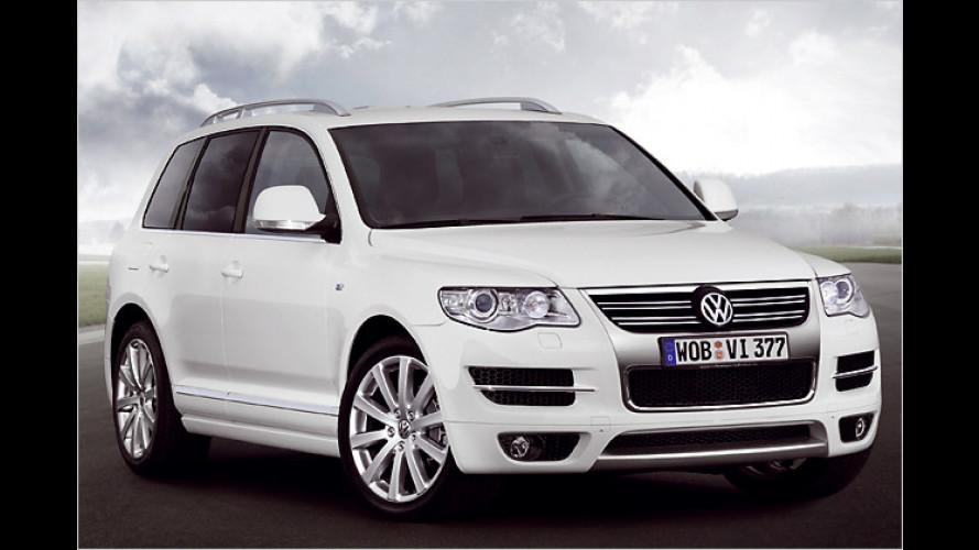 R-Line-Pakete von VW jetzt auch für den Touareg erhältlich