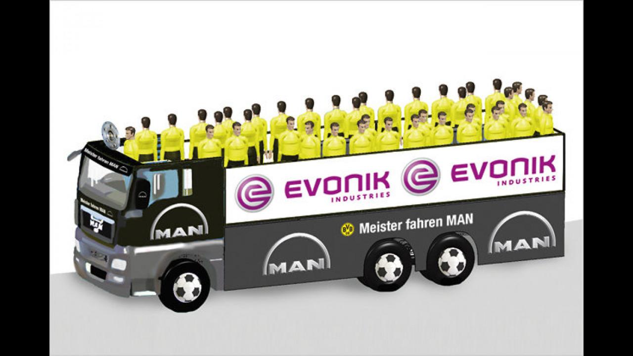 Cabrio-Truck für den BVB