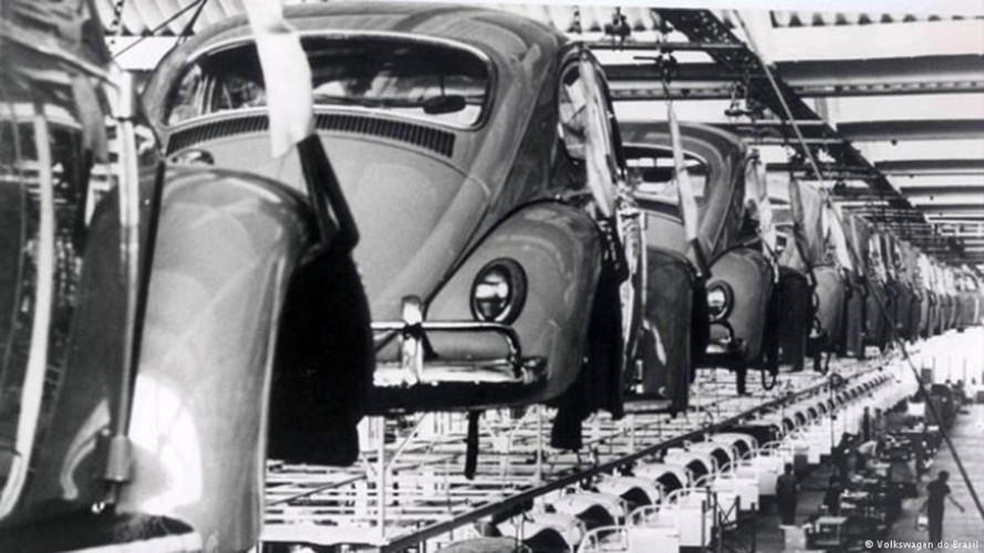 Volkswagen do Brasil - Fotos históricas