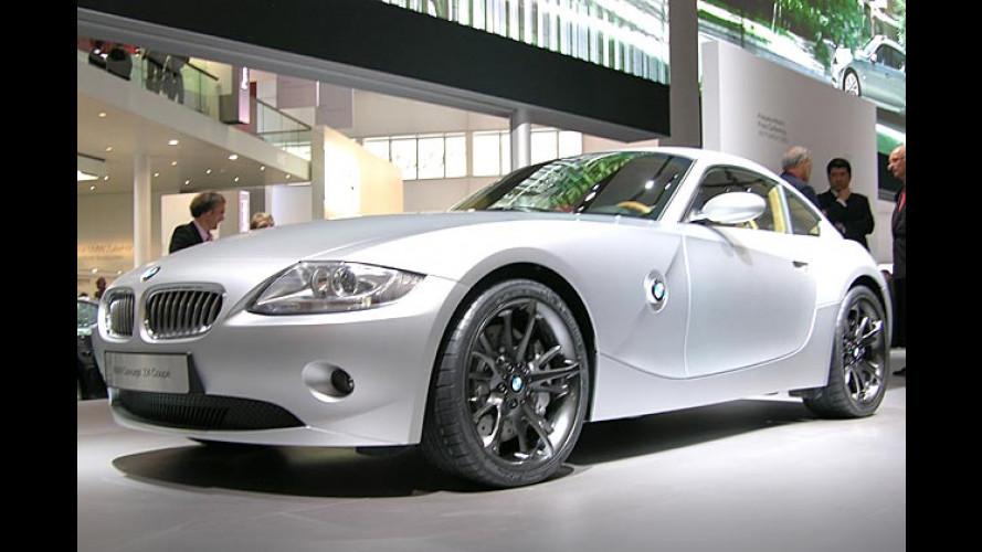 Gut bedacht: Coupé-Studie vom BMW Z4 steht auf der IAA