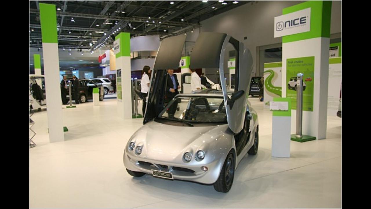 Nice Car Super Light Electric Concept