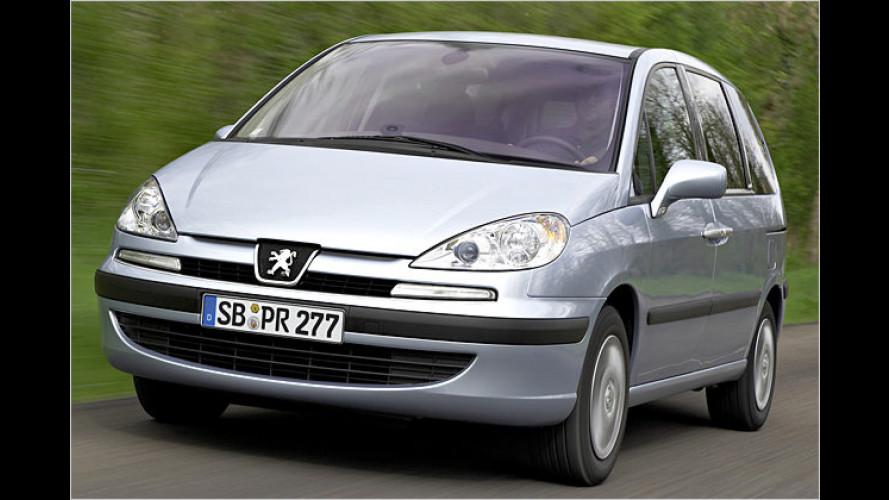 Starker Selbstzünder: Neuer Top-Diesel im Peugeot 807