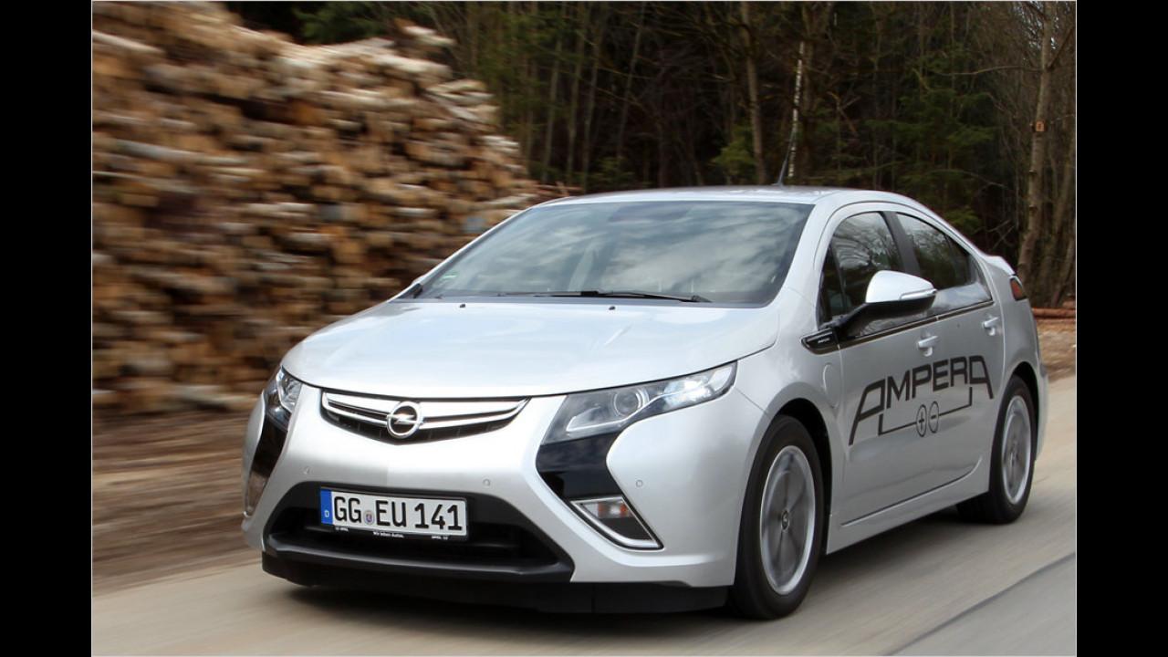 Platz 2: Opel Ampera/Chevrolet Volt