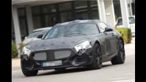 Erwischt: Mercedes AMG GT