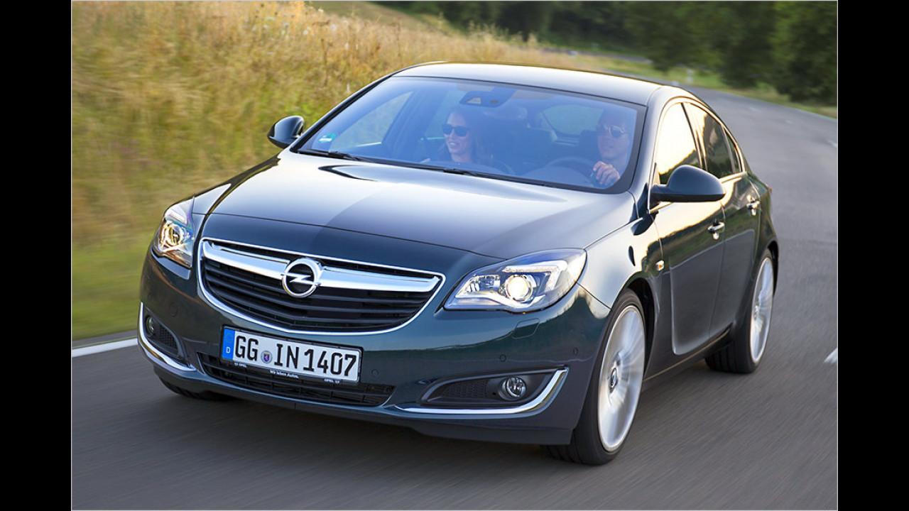 Auflösung: Der Opel Insignia