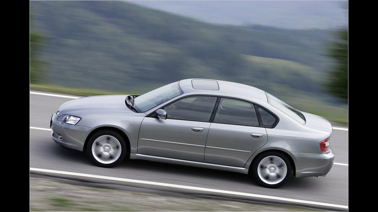 Subaru Legacy 2.5 Turbo (Klassensieger 2006,  2008)