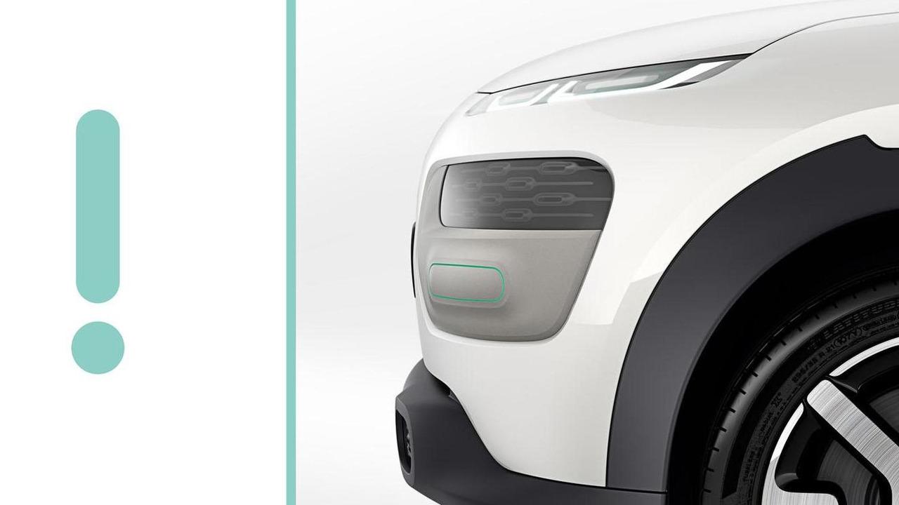 Citroen Cactus concept teaser image 27.8.2013