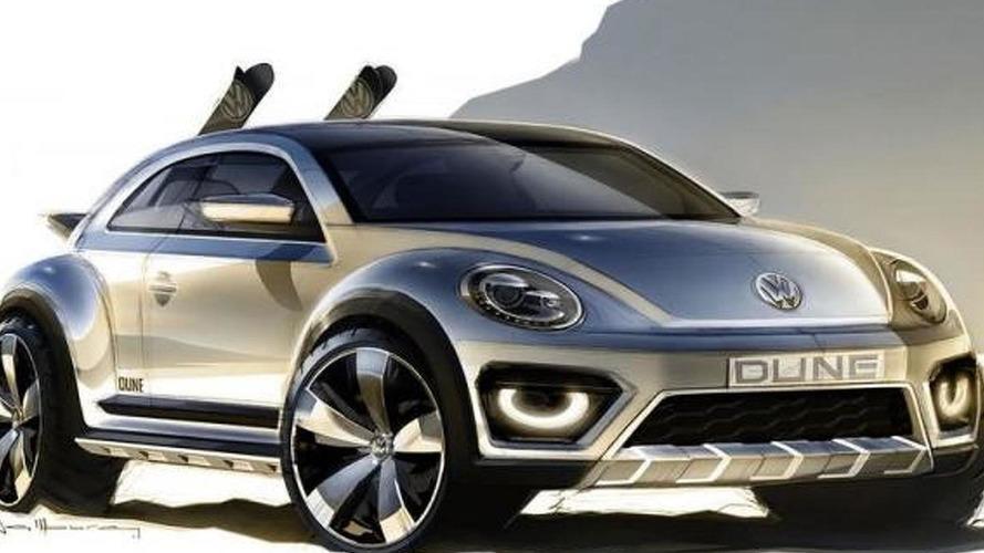 Volkswagen revises Beetle Dune Concept for 2014 NAIAS