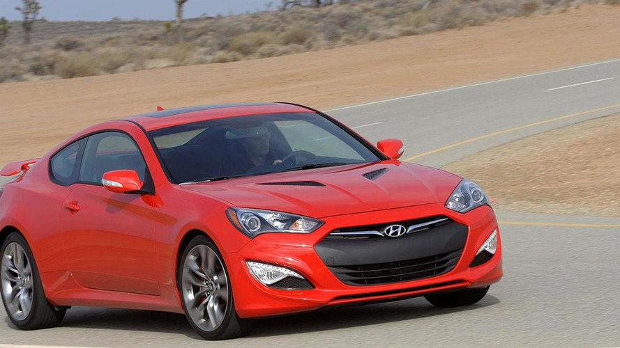 2015 Hyundai Genesis Coupe to drop the turbocharged four-cylinder engine - report