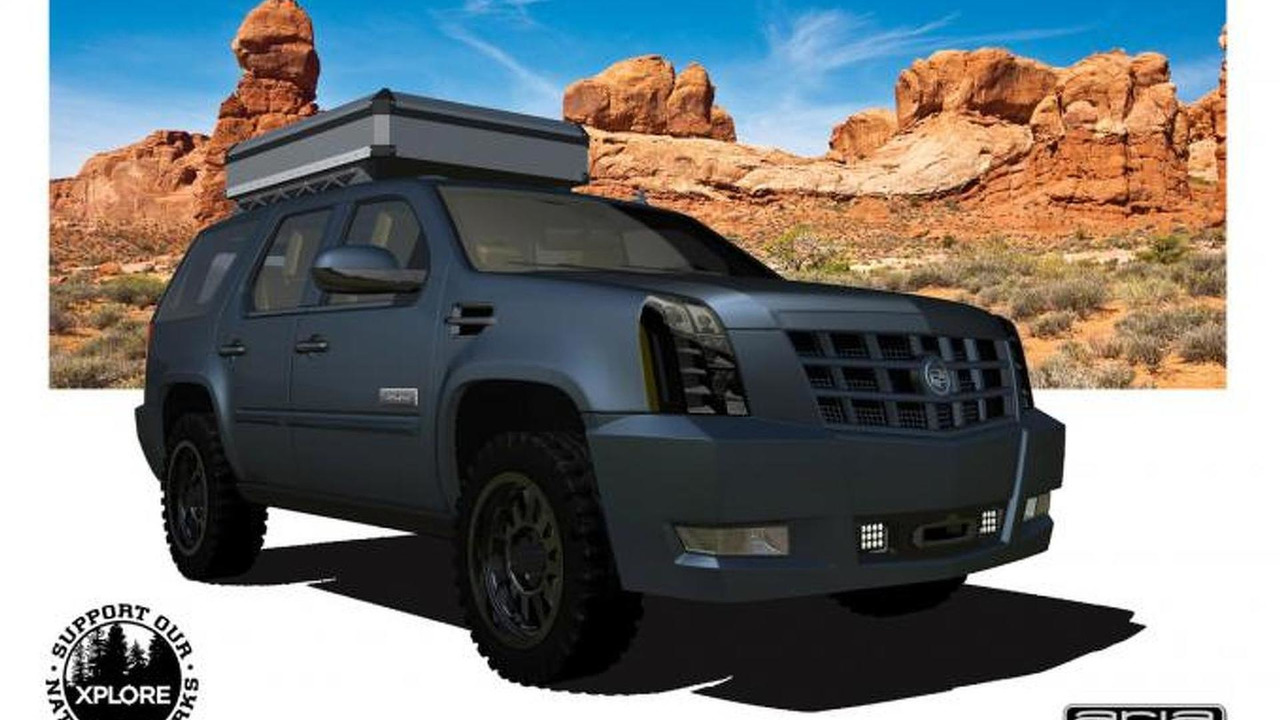 Cadillac Escalade XPLORE Adventure Series 27.6.2013