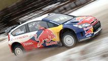Kimi Raikkonen Drive Citroen C4 WRC for First Time