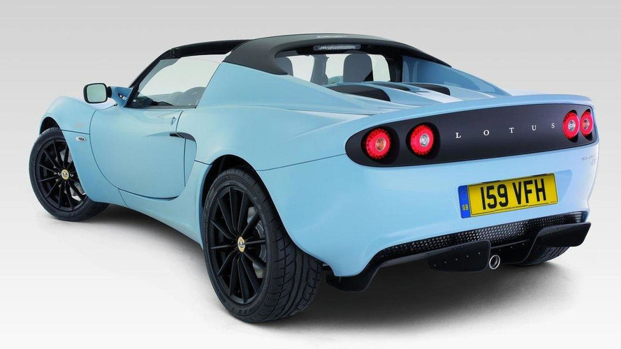 Lotus Elise Club Racer lightens the load