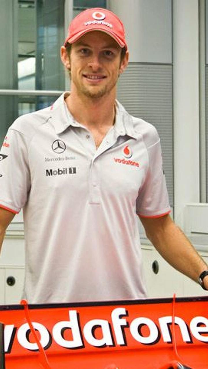 Jenson Button wearing official McLaren 2010 clothing - 400