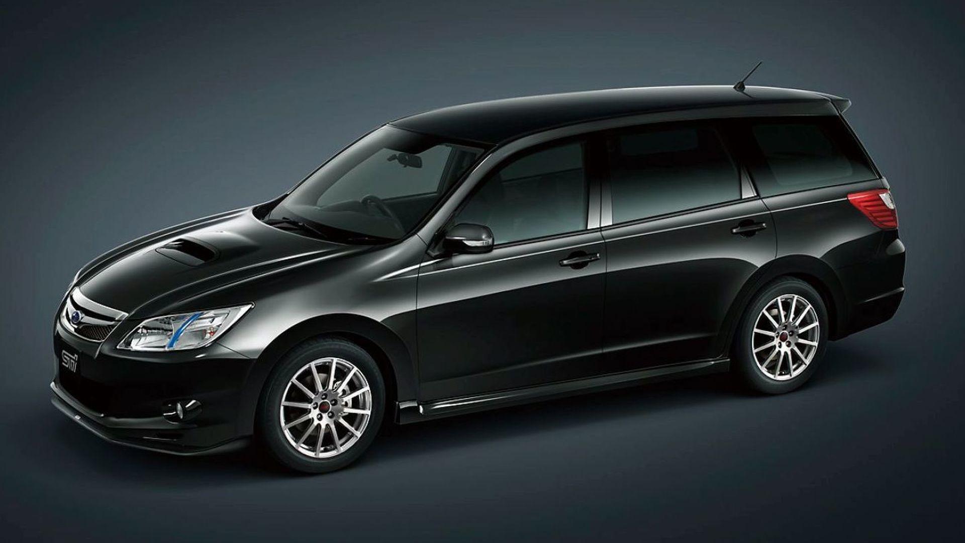 Subaru Exiga 20GT Tuned by STI Revealed in Tokyo  Motor1com Photos