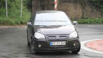 Volkswagen Up Mule Wearing shortened Polo Body