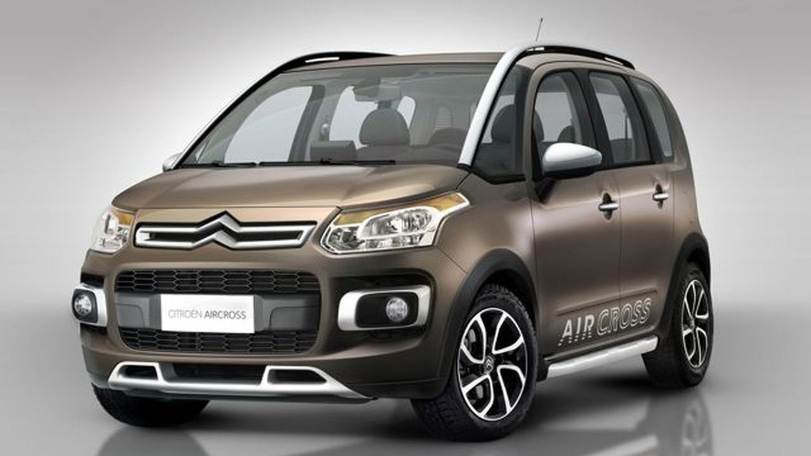 Citroën AirCross Based on C3 Picasso First Photos Released