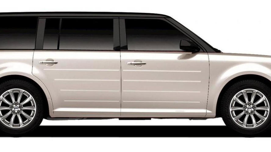 Ford announces new 2011 Flex Titanium at top of model range