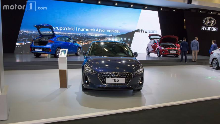 Hyundai i30 da İstanbul Autoshow'da