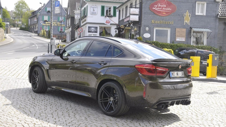 BMW X6 M Manhart
