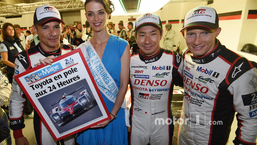 Toyota Locks Out Front Row In Qualifying At Le Mans 24 Hours