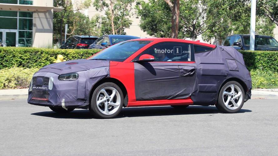 Photos espion - Une seconde génération pour le Hyundai Veloster !