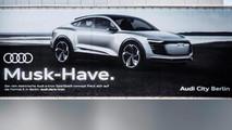 Audi Musk Have E-Tron Sportback Ad