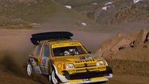 Andrea Zanussi, Peugeot 205 Turbo 16