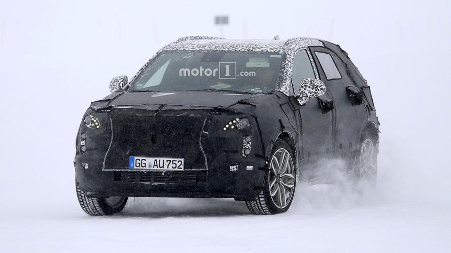 Cadillac XT4 kış testlerinde