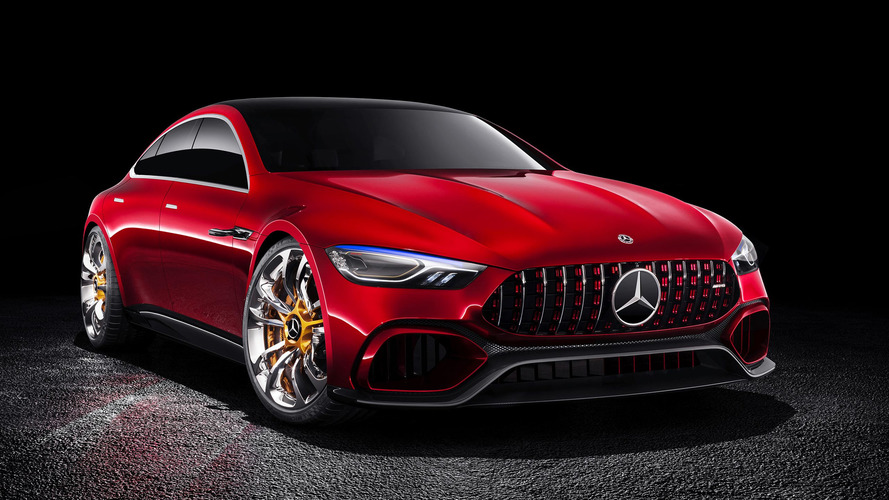 Mercedes-AMG GT Concept saiu melhor do que a encomenda