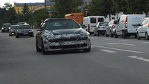 BMW M6 Cabriolet spied with top down