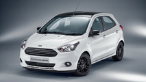Ford Ka Black White