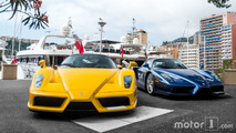 KVC - 2 Ferrari Enzo in Monaco