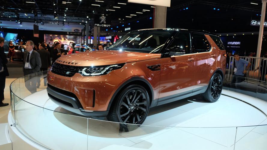 Salão do Automóvel: novo Discovery fica 480 kg mais leve e começa a ser vendido em 2017
